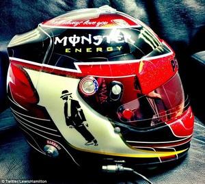 Michael Jackson Racing capacete