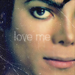 Love me icon - michael-jackson icon