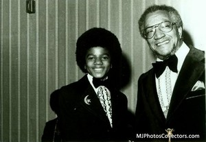 Michael And Actor/Comedian, Redd Foxx