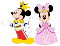 Prince Mickey and Princess Minnie - Minnie-rella - mickey-mouse-clubhouse fan art