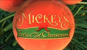 Mickey's Twice Upon a Christmas Logo/Title
