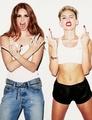 Miley wid Lana Del Rey