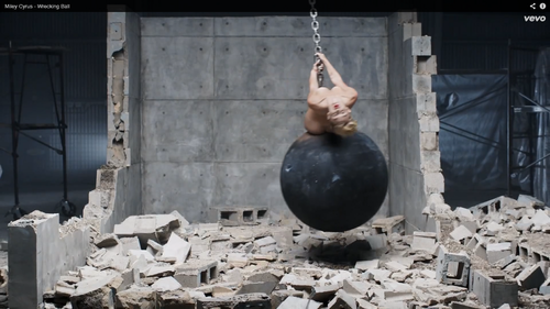 Miley Cyrus wallpaper entitled Wrecking Ball