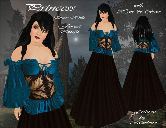 snow white forest outfit - Mirror Mirror outfits Photo ...