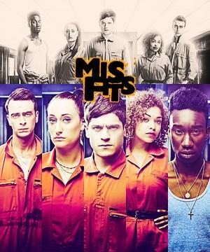 Misfits 3. season प्रशंसक art