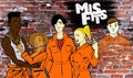 Misfits 1. season fan art - misfits-e4 fan art