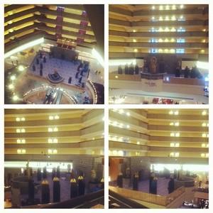 Mockingjay Set تصاویر from the Marriott Marquis in Atlanta 12.14.13