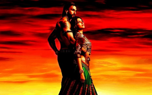 Movie Couples Wallpaper Probably Containing A Dinner Dress Entitled Ram Leela