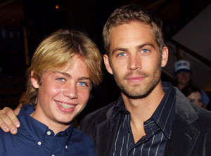 Paul Walker, with his brother Cody Walker