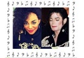 China Ann McClain  and Michael Jackson  - music photo
