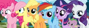 MLP Mane 6 Fillies