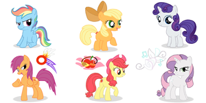 MLP Sister Switched