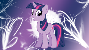 Twilight Sparkle kertas dinding