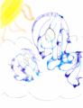 A Gaze Into a Rainbow Pool - my-little-pony-friendship-is-magic fan art