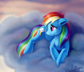 Sad Rainbow Dash - my-little-pony-friendship-is-magic photo