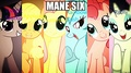 Mane Six - With affects - my-little-pony-friendship-is-magic photo