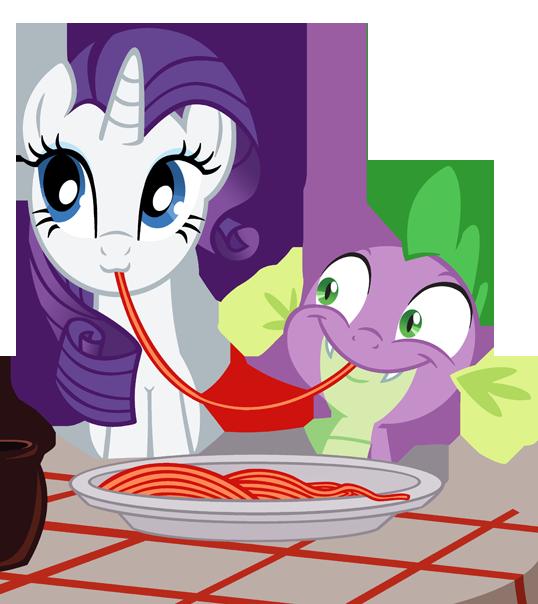 rarity x spike my little pony friendship is magic fan