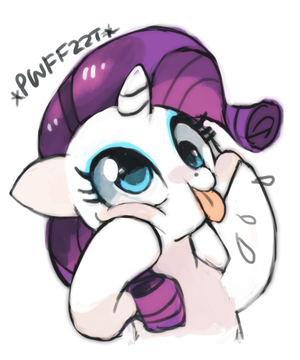 Cute Filly Rarity