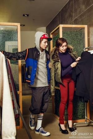 NU'EST-M for 'Street Fashion'