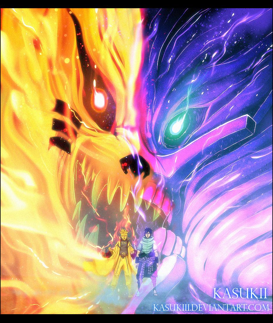 *Sasuke & Naruto* - Naruto Shippuuden Photo (36203519 ...
