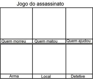 jogo do assassinato