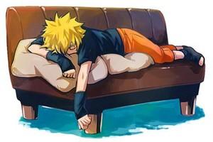 naruto dormindo