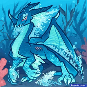 Hydro the Water Dragon