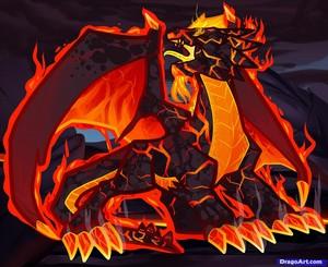 Drago the ngọn lửa, chữa cháy Dragon