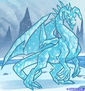 Crystal the Ice Dragon