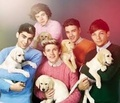 Puppies so adorbs - niall-horan fan art