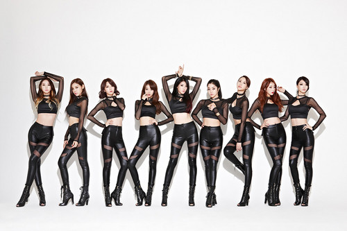 Nine Muses fondo de pantalla entitled Nine Muses – Glue