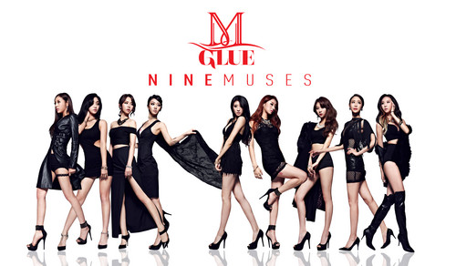Nine Muses fondo de pantalla probably with a swimsuit, a maillot, and a leotard titled Nine Muses – Glue
