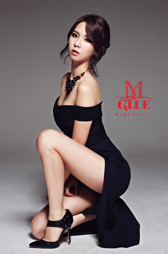 Nine Muses Обои possibly containing skin called Nine Muses – Glue