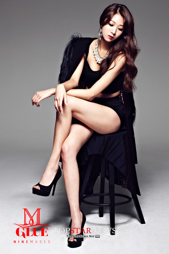 Nine Muses Обои possibly with bare legs, hosiery, and tights titled Nine Muses – Glue