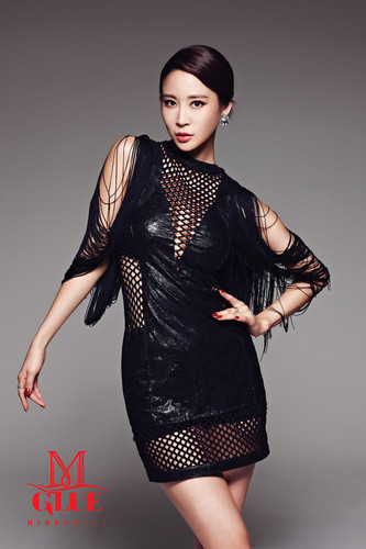 Nine Muses Обои probably with a коктейль dress and a leotard titled Nine Muses – Glue