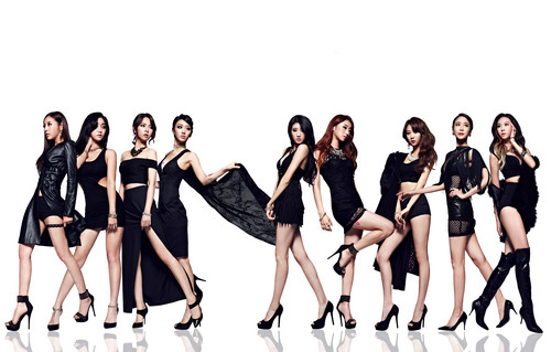 Nine Muses fondo de pantalla with a maillot titled Nine Muses – Glue