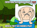 Noob - adventure-time-with-finn-and-jake fan art