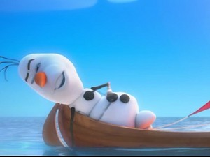 Olaf the mermaid