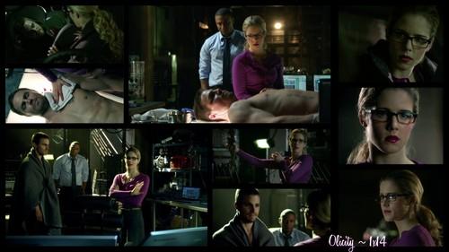 Oliver & Felicity দেওয়ালপত্র titled Olicity ~ 1x14