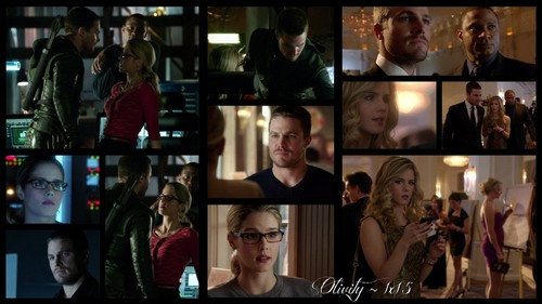 Oliver & Felicity वॉलपेपर titled Olicity ~ 1x15
