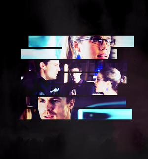 Oliver and Felicity (2x09)