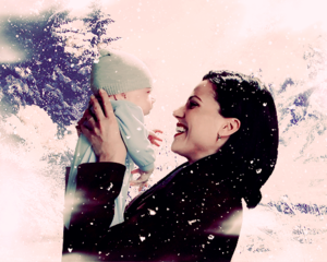 Regina and Baby Henry<3