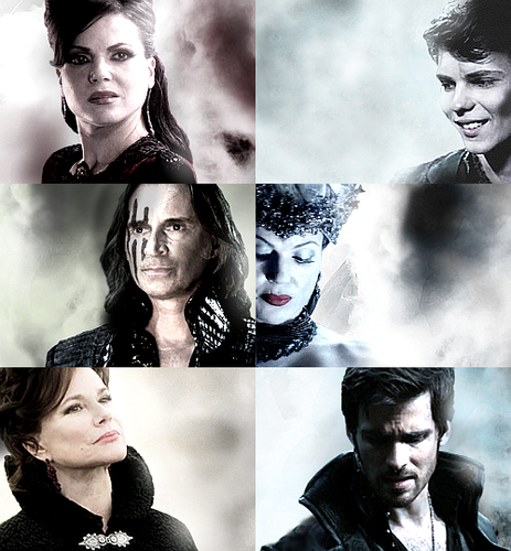 Ouat Wallpaper: Once Upon A Time Images OUAT Villains Wallpaper And