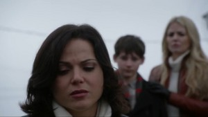Regina, Emma, and Henry