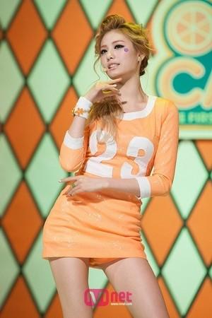 オレンジ キャラメル
