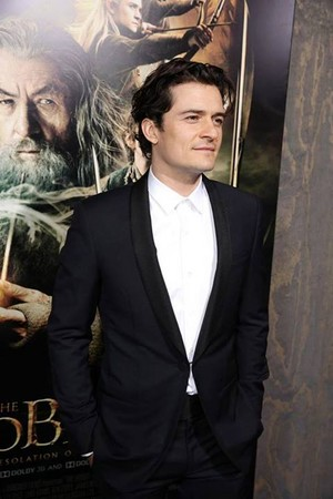 Orlando Bloom at the Los Angeles Premiere of The Hobbit: The Desolation of Smaug