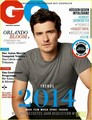Orlando Bloom Covers 'GQ Germany' January 2014