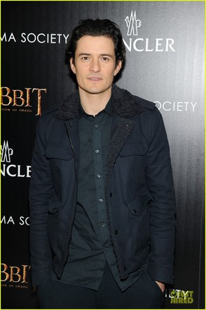 Orlando Bloom at the Hobbit NYC Screening