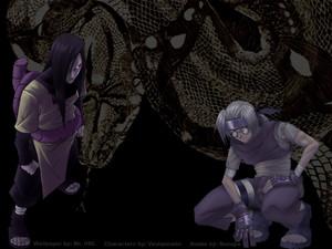 Orochimaru and Kabuto