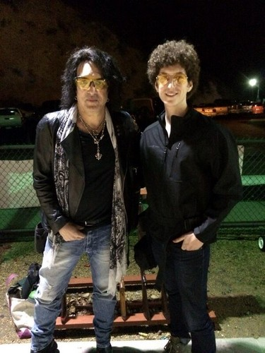 Paul Stanley wallpaper called Rain stopped and GREAT night for shooting with Evan and the boys.